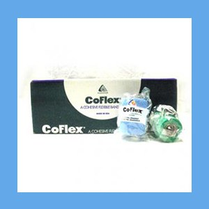 "CoFlex Bandage Assorted Color Pack 3"" latex, bandage, cohesive, light compression wrap"