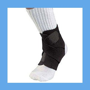 Support Ortho Mueller Adjustable Ankle Universal One Sz  Ortho Support Ankle